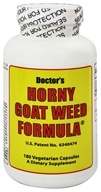 Fountain of Youth Technologies - Doctor's Horny Goat Weed Formula - 180 Vegetarian Capsules, from category: Herbs