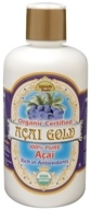 Image of Dynamic Health - Acai Gold 100% Pure Organic Juice - 16 oz.