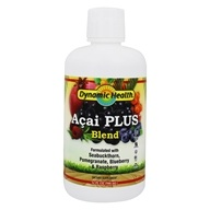 Dynamic Health - Acai Plus Juice Blend Pomegranate Blueberry & Raspberry - 32 oz.