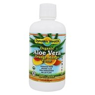 Dynamic Health - Aloe Vera Juice Orange Mango - 32 oz.