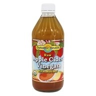 Dynamic Health - Organic Apple Cider Vinegar with Mother - 16 oz.