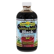 Dynamic Health - Juice Concentrate 100% Pure Black Cherry - 8 oz. by Dynamic Health