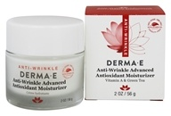 DERMA-E - Anti-Wrinkle Advanced Antioxidant Moisturizer - 2 oz. Refining Vitamin A And Green Tea Moisturizer Creme