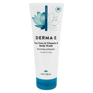 Derma-E - Tea Tree and E Face and Body Wash - 8 oz.
