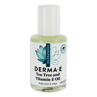 Derma-E - Tea Tree and E Oil - 1 oz.
