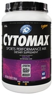 Cytosport - Cytomax Sports Performance Drink Go Grape - 4.5 lbs. - $29.37