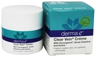 Derma-E - Clear Vein Creme Spider Vein & Bruise Solution - 2 oz.