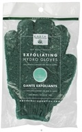 Earth Therapeutics - Exfoliating Hydro Gloves Forest Green - 1 Pair