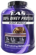 EAS - 100% Whey Protein Chocolate - 5 lbs., from category: Sports Nutrition