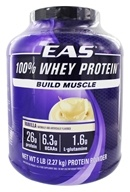EAS - 100% Whey Protein Vanilla - 5 lbs., from category: Sports Nutrition