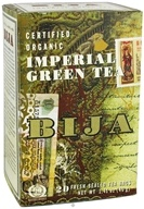 Flora - Bija Imperial Green Tea Certified Organic - 20 Tea Bags CLEARANCE PRICED by Flora