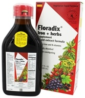 Flora - Floradix Iron & Herbs - 17 oz., from category: Vitamins & Minerals