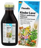 Image of Flora - Floradix Kinder Love Childrens Multi Vitamin - 8.5 oz.