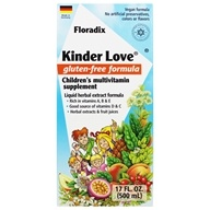 Image of Flora - Floradix Kinder Love Childrens Multi Vitamin - 17 oz.