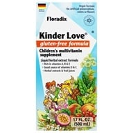 Flora - Floradix Kinder Love Childrens Multi Vitamin - 17 oz. - $31.03