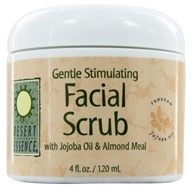 Desert Essence - Gentle Stimulating Facial Scrub - 4 oz.