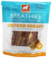 Dogswell - Breathies Dog Treats With Mint & Parsley Chicken Breast - 5 oz. - $5.34