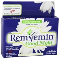 Enzymatic Therapy - Remifemin Good Night - 21 Tablets - $10.99