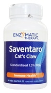Enzymatic Therapy - Saventaro Max-Strength Cat's Claw - 90 Vegetarian Capsules by Enzymatic Therapy