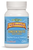Enzymatic Therapy - Sea Buddies Concentrate Focus Formula - 60 Capsules (763948033362)
