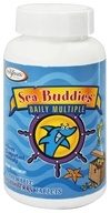 Enzymatic Therapy - Sea Buddies Daily Multiple Splashberry - 60 Chewable Tablets