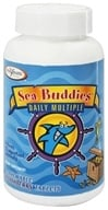 Enzymatic Therapy - Sea Buddies Daily Multiple Splashberry - 60 Chewable Tablets - $7.51