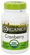 Image of Enzymatic Therapy - True Organics Cranberry - 30 Tablets