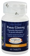 Enzymatic Therapy - Panax 인삼 - 60 정제