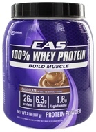 EAS - 100% Whey Protein Powder Chocolate - 2 lbs. (791083564496)