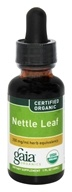 Image of Gaia Herbs - Nettle Leaf Certified Organic - 1 oz.