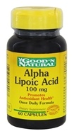 Good 'N Natural - Alpha Lipoic Acid 100 mg. - 60 Capsules - $5.68