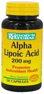 Good 'N Natural - Alpha Lipoic Acid 200 mg. - 50 Capsules, from category: Nutritional Supplements