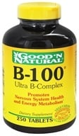 Good 'N Natural - B-100 Ultra B-Complex - 250 Tablets, from category: Vitamins & Minerals