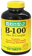 Good 'N Natural - B-100 Ultra B-Complex - 250 Tablets (074312407734)