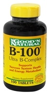Good 'N Natural - B-100 Ultra B-Complex - 100 Tablets - $10.14