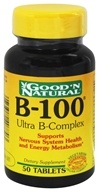 Good 'N Natural - B-100 Ultra B-Complex - 50 Tablets, from category: Vitamins & Minerals