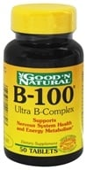 Good 'N Natural - B-100 Ultra B-Complex - 50 Tablets by Good 'N Natural