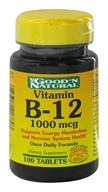Good 'N Natural - Vitamin B-12 1000 mcg. - 100 Tablets (074312413803)