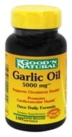 Good 'N Natural - Garlic Oil 5000 mg. - 100 Softgels, from category: Herbs