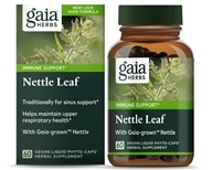 Gaia Herbs - Nettle Leaf Liquid Phyto Capsules - 60 Vegetarian Capsules, from category: Herbs