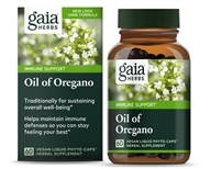 Gaia Herbs - Oil Of Oregano Liquid Phyto Capsules - 60 Vegetarian Capsules