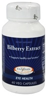 Enzymatic Therapy - Bilberry Extract - 60 Vegetarian Capsules - $13.50