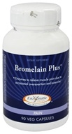 Image of Enzymatic Therapy - Bromelain Plus - 90 Vegetarian Capsules