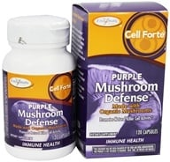 Enzymatic Therapy - Cell Forte Purple Mushroom Defense - 120 Ultracap(s) - $20.18