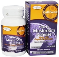 Enzymatic Therapy - Cell Forte Purple Mushroom Defense - 120 Ultracap(s) by Enzymatic Therapy