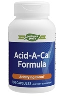 Enzymatic Therapy - Acid-A-Cal - 100 Vegetarian Capsules
