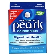 Image of Enzymatic Therapy - Acidophilus Pearls Active Cultures - 90 Capsules LUCKY DEAL