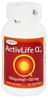 Enzymatic Therapy - ActivLife Q10 Ubiquinol 50 mg. - 60 Softgels - $17.99