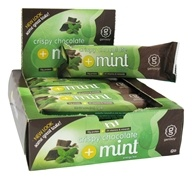 Genisoy - Soy Protein Bar Arctic Frost Crispy Chocolate Mint - 2.2 oz. by Genisoy