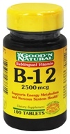 Image of Good 'N Natural - Sublingual Vitamin B-12 2500 mcg. - 100 Tablets
